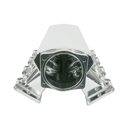 TSP Velocity LS1/LS2/LS6 102mm Fabricated Aluminum Straight Angle Hi Ram  Sheet Metal Intake Manifold