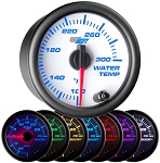 Glow Shift White 7-Color Water Temp Gauge  -  WAPGS-W706