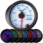Glow Shift White 7-Color Fuel Pressure Gauge  -  WAPGS-W711