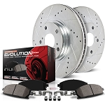 BAP-K1855 Front & Rear 1 Click (Z23) Brake Kit W / Hardware