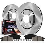 BAP-KOE1855 Front & Rear Daily Driver (OE) Brake Kit