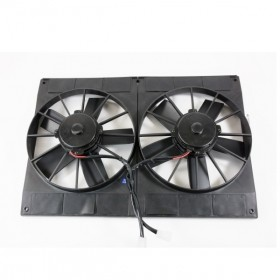 "Pro Series Dual 11"" Universal Cooling Fan"